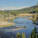 Yellowstone Lake Foto