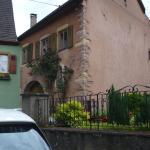 une habitation dans le village