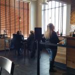 Seating Area at Starbucks Sandusky, OH