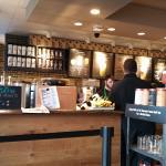 Counter Area at Starbucks Sandusky, OH