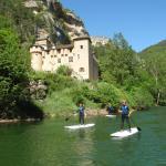 Stand up paddle dans les gorges du Tarn