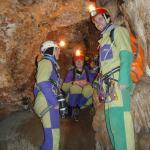 Speleologie dans les gorges du Tarn