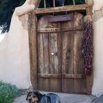 This is the famous Josephina's gate. The dog was my daughter's and did not stay with us.