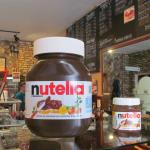 Who wouldn't love the giant jar of Nutella?