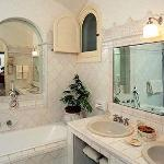 Large Bathroom, with separate shower, twin sinks