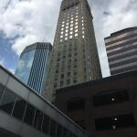 The Foshay Tower from outside.