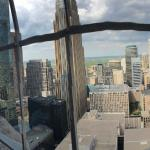 The view from the top of the Foshay Tower.