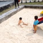 Kolam pasir di Taman Pandan Alas