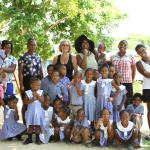 At the nursery school with all of us!