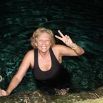 swimming where Bob Marley used to