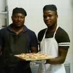 Love Pizza at Blah Blah Bar