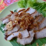 BBQ Pork @ Dinphow Thai-Viet Cuisine