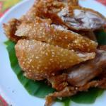 Deep Fried Chicken with Sesame @ Dinphow Thai-Viet Cuisine