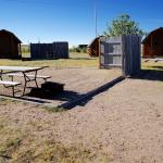 Camping Cabins and Protected Tent Sites