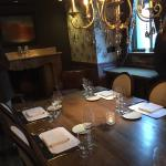 Private dining room for group of 12