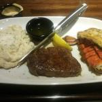 Steak, Lobster and Mashed potatoes