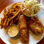 Great taste! Fish and chips.