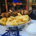 Souvlaki & Chips
