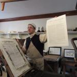 Boston Declaration printing