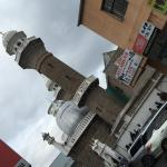 Passing by the Mosque, while exploring city center. Looked nice and felt good knowing there are