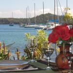 BADLADZ Dive Resort Restaurant View
