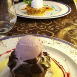 Les desserts ... Tueries 👌👏👍 comme le reste 😉