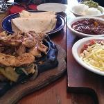 Chicken Fajita-sizzling and tasty