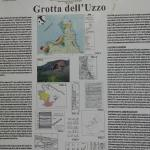 cartello Grotta dell' Uzzo