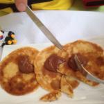 Assortiments de desserts et crêpes aux nutellas