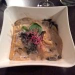 Ravioles de foie gras et cèpes