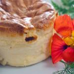 Twice baked Llandyrnog chedddar Souffle