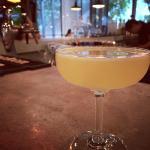 Honey Sake cocktail