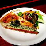 Red Leicester and Bacon Quiche delish And  Sun-dried Tomatoes , Spinach and Feta Quiche jummy