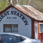Priest Station, Moccasin, Nr Yosemite NP, CA, USA.