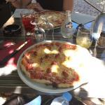 Pizza Le Clemenceau (haut) pizza orientale (bas) DELICIEUSE
