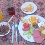A delicious wholesome turkish breakfast