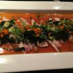 Yellowtail in Ponzu Sauce