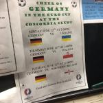 Promotion of upcoming European Soccer Cup. Germany is favourite