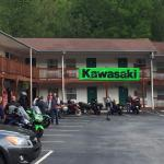 Very accommodating place for even large motorcycle groups!