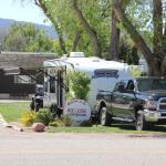 Our rig at Red Ledge RV Park Wonderful spot.