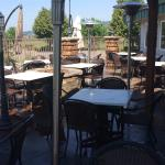 Great patio for summer dining