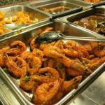 Hunan Garden- Big Fried Shrimp-Popcorn Shrimp-Beef Dish