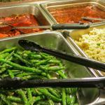 Hunan Garden- Fresh Asparagus-Fried Rice-Spicy Chicken Vegetables