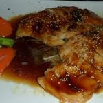 Teriyaki Chicken, Beautiful Presentation!