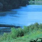 il fiume Tanaro ....