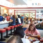 Classic diner look. Not many of those in Dallas!