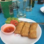 Flavoursome spring rolls