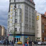 het hotel bevindt zich in het centrum op 150 meter van de metro