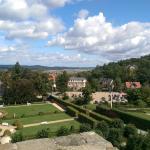 Blick zum Kleinen Schloss und Schlosshotel