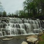 Water Falls near Mississippi Mills Textile museum. Almonte (Mississippi Mills)